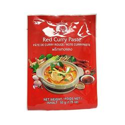 Pasta Curry Czerwona  COCK BRAND 50g | Curry Goi DO  COCK BRAND 50gx12szt/krt