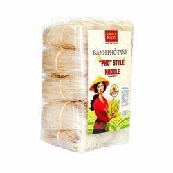 Świeży makaron ryżowy 4mm SIMPLY FOOD 1kg/opak  | Pho Tuoi La Bo De 4mm 1kg/opak x 8opak/krt
