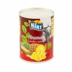 Ananas w syropie kostka KIER 3035g  | Dua Vien KIER 3035g x 6szt/krt