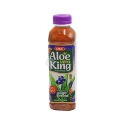 Napój aloesowy z borówkami OKF 500mlx20szt  Nuoc Aloe Viet Quat OKF 500mlx20szt