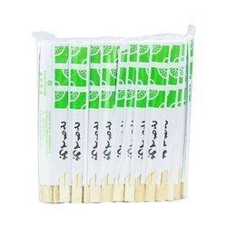 Pałeczki bambusowe krótkie KAWAFOOD 21cm  Dua Tre ngan KAWAFOOD 21cmx100par