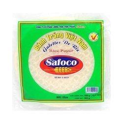 Papier ryżowy do springrollsów SAFOCO 300g   Banh Trang Safoco 300g x 20szt/krt