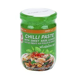 Pasta Chilli z Bazylią COCK BRAND  200g   Chilli Paste COCK BRAND  200gx24szt