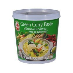 Pasta Curry Zielona COCK BRAND 400g | Curry Xanh COCK BRAND 400gx24szt