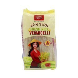 Świeży makaron ryżowy 1,2mm SIMPLY FOOD 500g/opak | Bun Binh Tay 1,2 mm SIMPLY FOOD 500g/opak x 30opak/krt