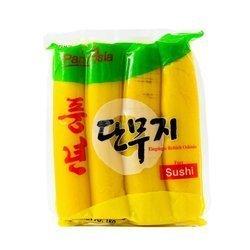 Żółta rzodkiew marynowana PANASIA 1kg   Cu Cai Vang 1kgx16szt
