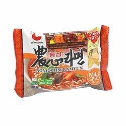 Zupa błykawiczna NONGSHIM ramyun 85g x 24szt/krt | Mi NONGSHIM Ramyun Mild Spicy 85g x 24szt/krt